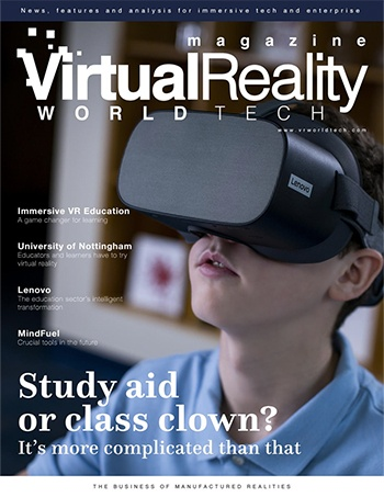 """2021: VR WorldTech; """"The Business of Manufactured Realities"""""""