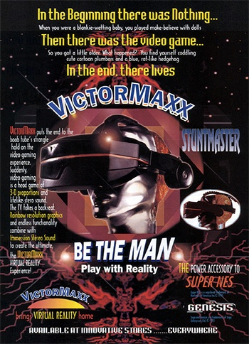"""Circa 1995: Victor Maxx - """"Be the Man, Play with Reality"""""""